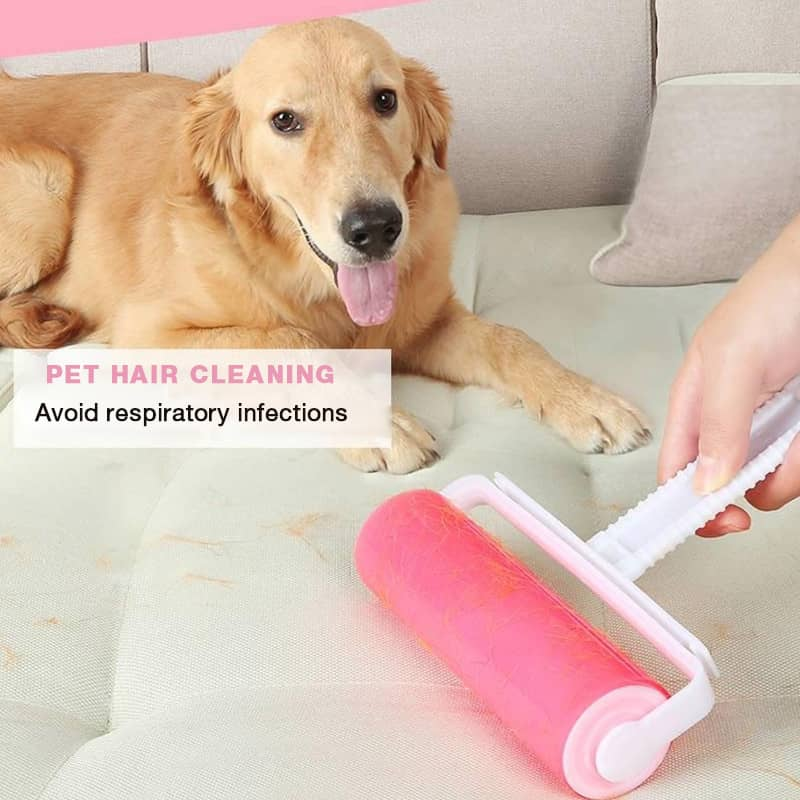 Washable Lint Roller Sticky Silicone Dust Wiper Remover Cat Dog Clothes Tousle Remover Reusable Washable Lint Roller Bed Hair Cl enlarge