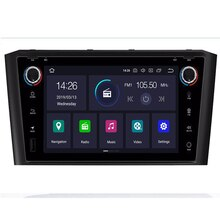 Android 10 RAM 4G 64G rom ont des DVD stéréo multimédia pour Toyota Avensis/T25 2003-2008 Radio GPS Navigation vidéo