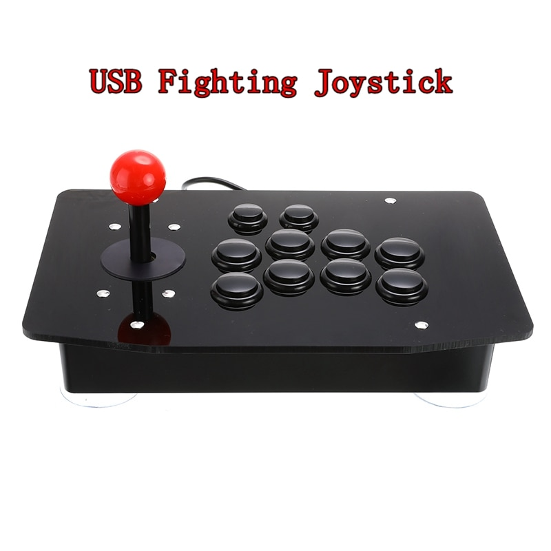 Arcade Joystick USB Fighting Stick Gaming Controller Gamepad Video Game For PC Desktop Computers