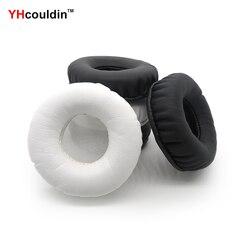 YHcouldin Pads Ouvido Para Audio Technica ATH-A900 ATH-A900X ATH-A990Z ATH-A950LP ATH A900 A900X A990Z A950L Fone De Ouvido Earpad Covers