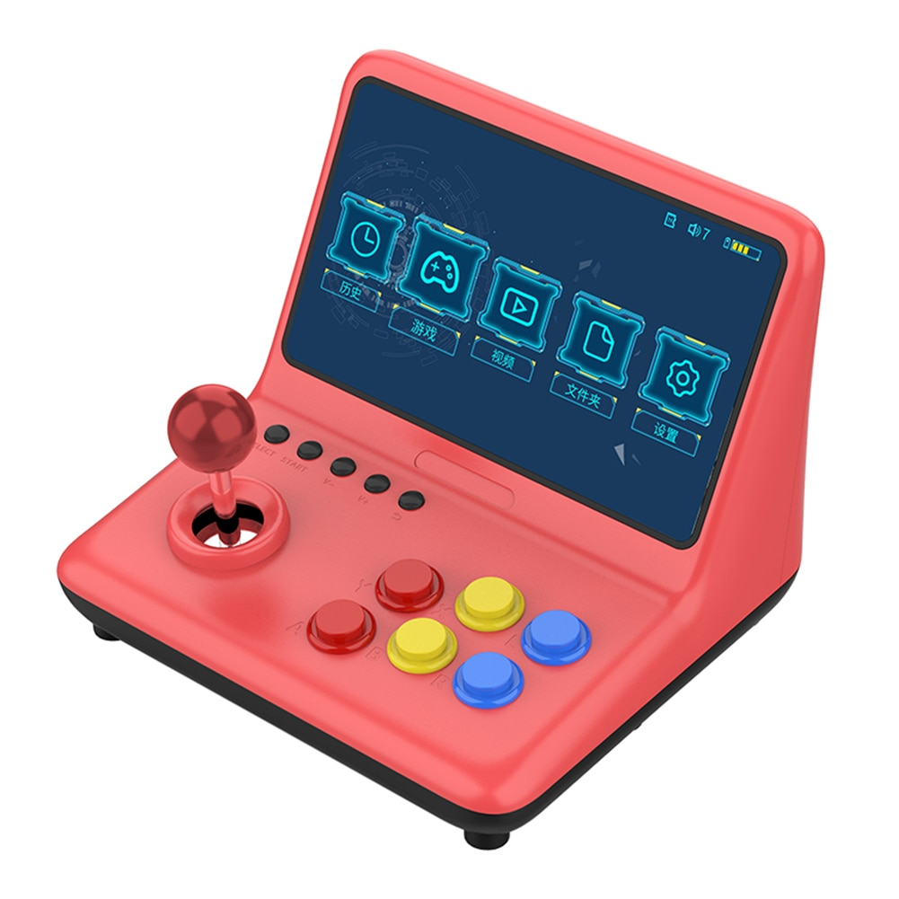 9 inch Game Console Video Gamepad Lightweight Game Playing IPS Arcade Joystick 2000 Games Elements for POWKIDDY A12