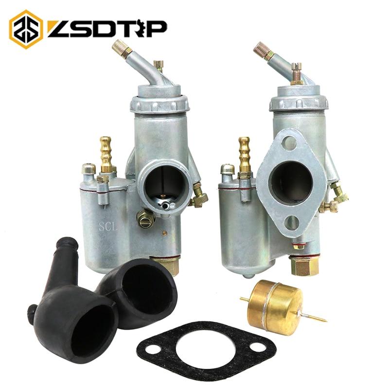 ZSDTRP Retro carburador polvo de goma + flotadores de latón + junta de carburador para CJ-K750 R71 R75 URAL DNEPR K750 Piezas de motocicleta