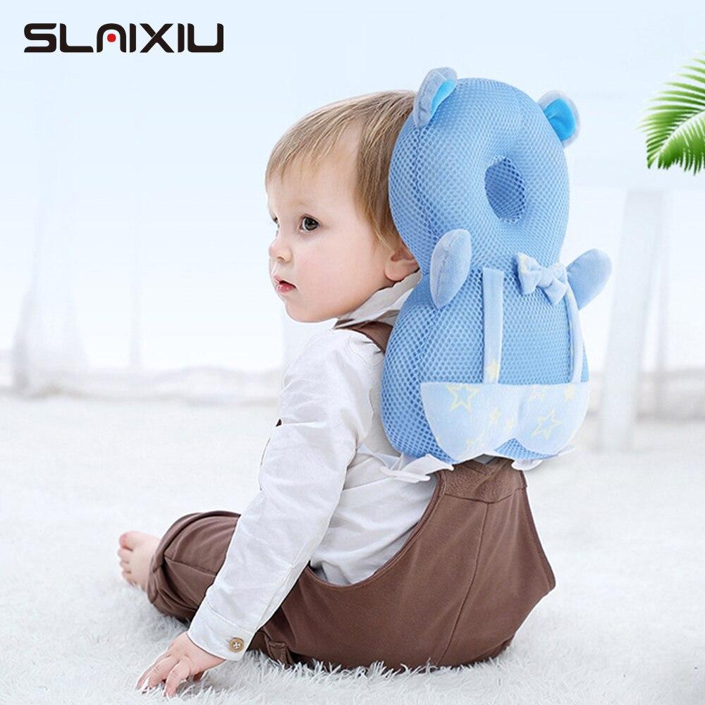 Детская подушка для защиты головы, подушка для безопасности, подушка для защиты спины, Мультяшные подушки безопасности, PP хлопок, защитная п...