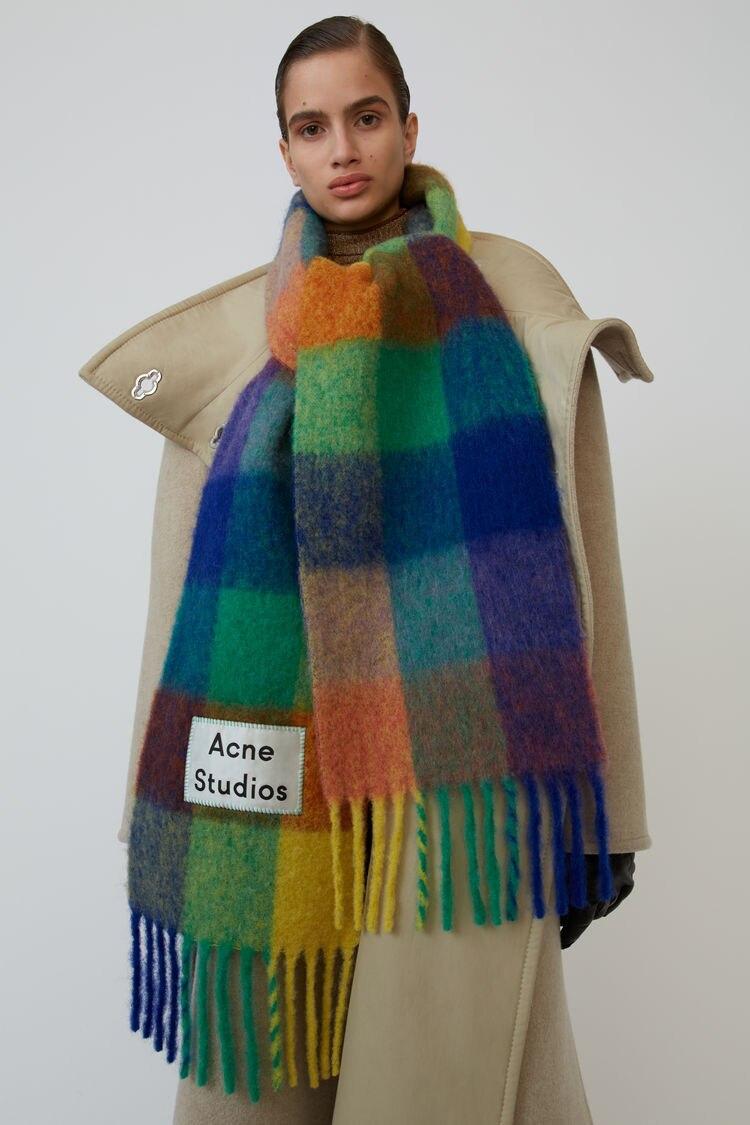 Ac family кашемировая шаль для осени и зимы 2019, зимний модный цветной клетчатый шарф согревает шею студентов и толстые шали