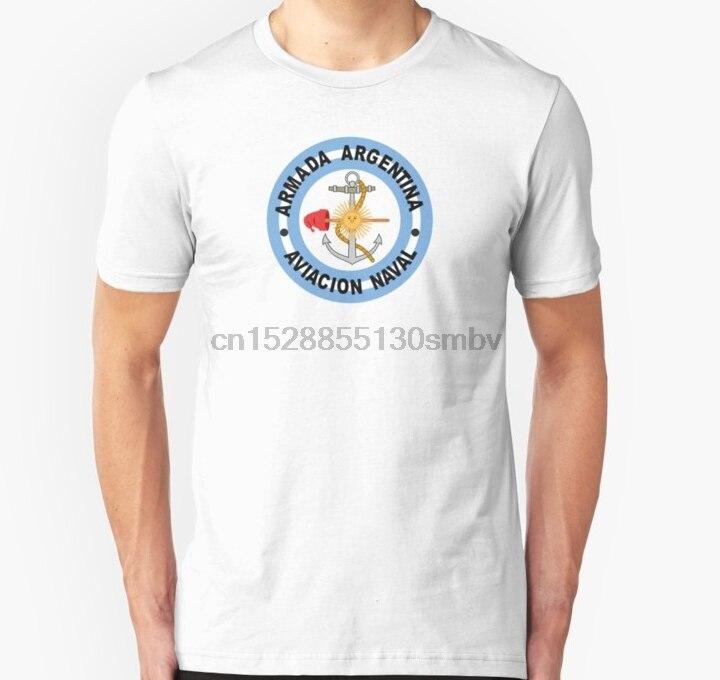 Men tshirt Argentine Naval Aviation Patch  Unisex T Shirt women T-Shirt tees top