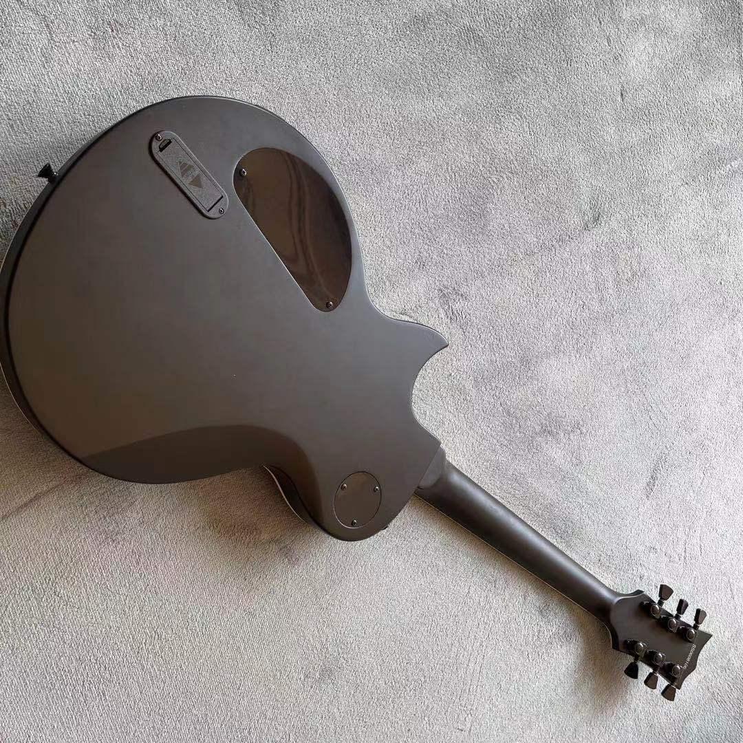 Black color standard custom electric guitar,handwork 6 Strings gitaar,Mahogany body.rosewood fingerboard guitarra enlarge