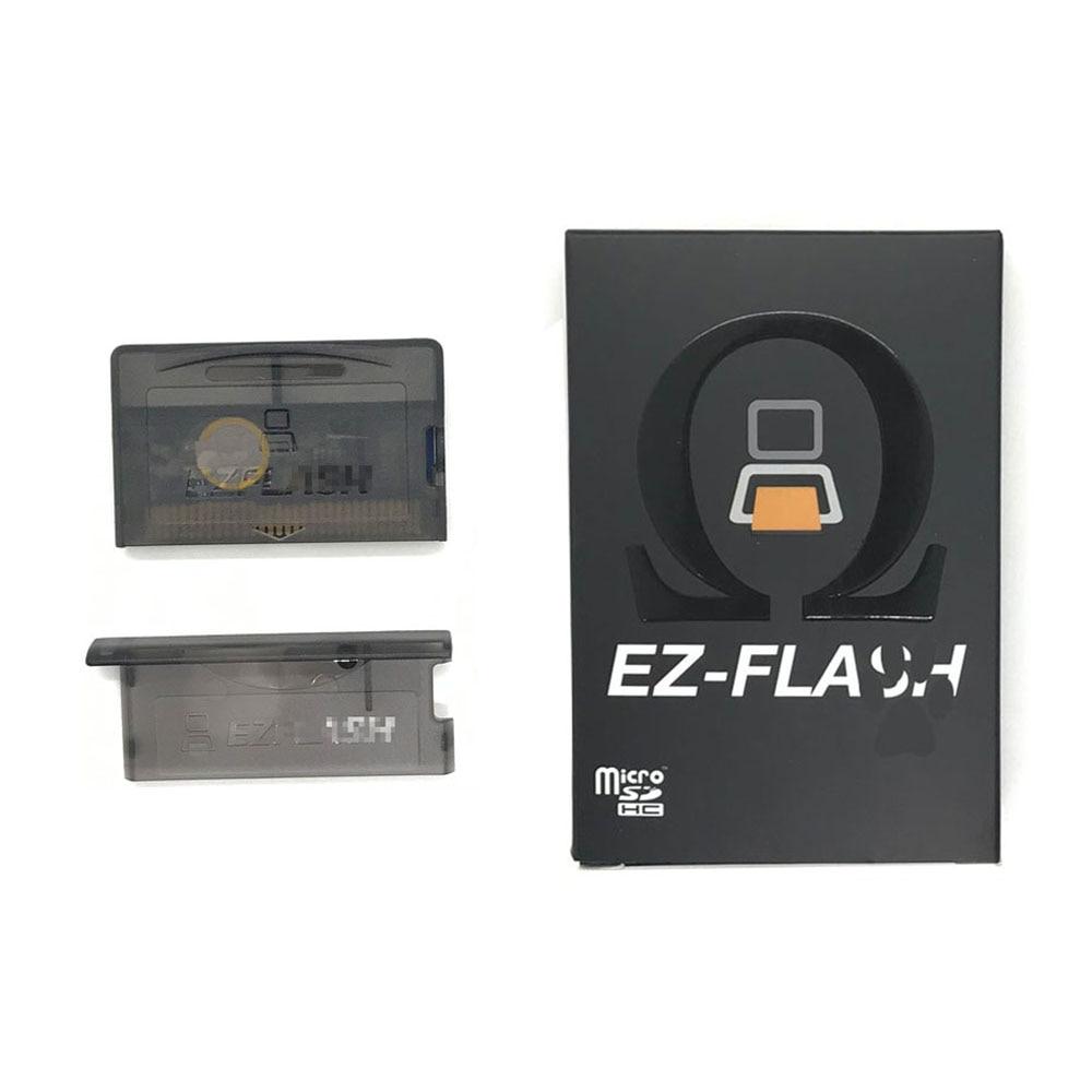 جديد ez فلاش أوميغا ل GBA GBASP GBM EZ فلاش أوميغا EZO لعبة خرطوشة بطاقة EZ 3 في 1 مع EZ-refor EZ4 ez-فلاش على مدار الساعة في الوقت الحقيقي