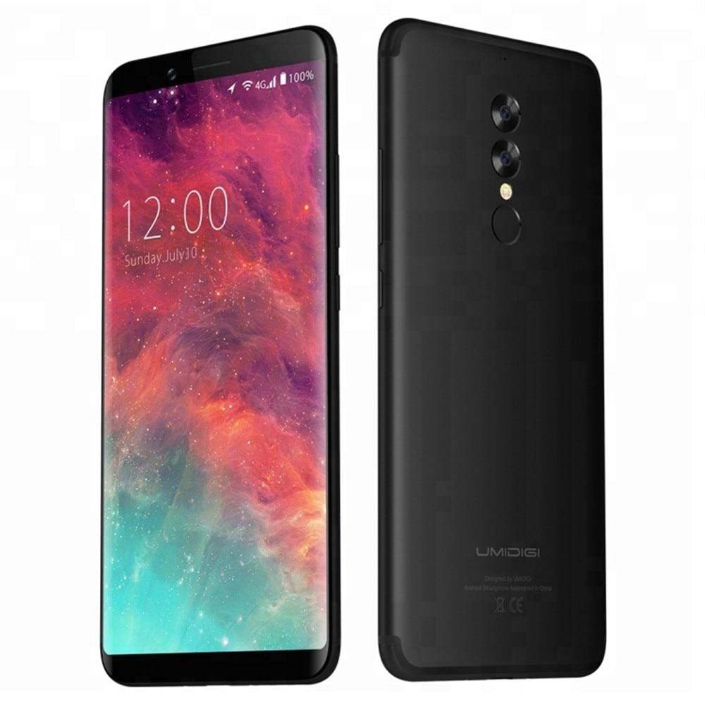UMIDIGI S2 PRO 6GB 128GB Smartphone Helio P20 Octa Core  5100mAh Big Battery 4G LTE 16MP Face ID Fingerprint OTG Mobile Phone