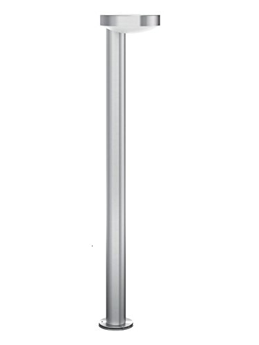 Philips MyGarden cockatoo-poste LED, extérieur iluminación, LED intégrado, 8 W, luz blanca fría, acero inoxydable, diseñado para