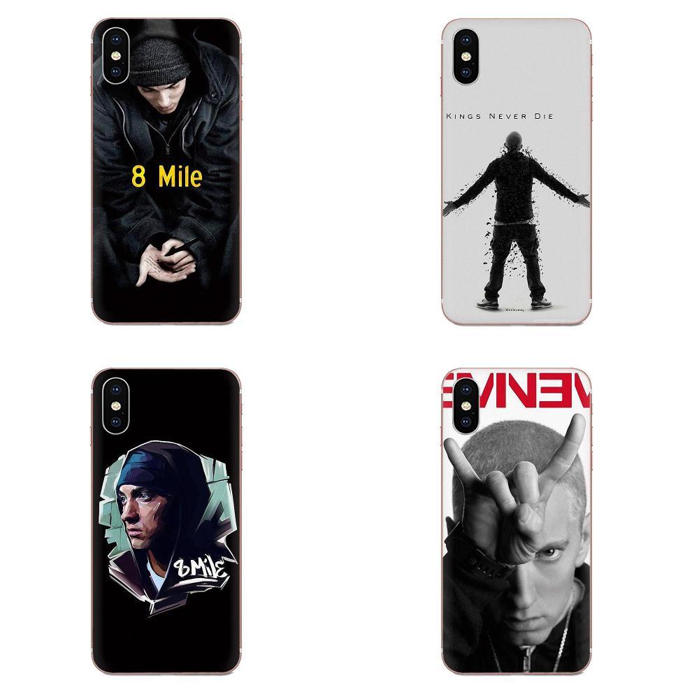 TPU Design Customized For LG G3 G4 G5 G6 G7 K4 K7 K8 K10 K40 K50 Q6 Q60 V10 V20 V30 V40 Nexus 5 5X 2017 Hip Hop Rapper Eminem