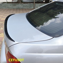 For Accessories Spoiler NEW OLD BMW 3 Series E90 F30 G20 Car Trunk PU Plastic Rear Lip Wing Tail Bla