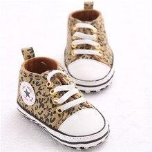 Baskets solides en coton   Chaussures de bébé, garçon et fille, étoile, semelle antidérapante souple, nouveau-né, premiers marcheurs bébés, chaussures de berceau en toile décontractées