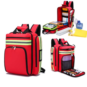 First Aid Kit Emergency Rescue Backpack Civil Air Defense Earthquake Relief Bag Large Capacity Classified Storage Survival Kits