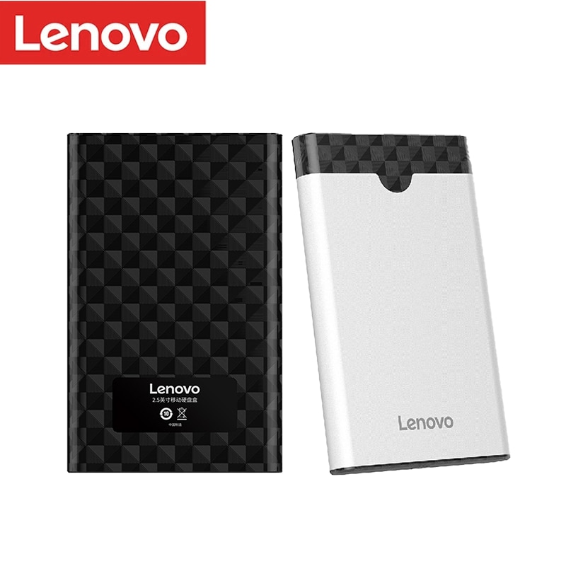 Lenovo 2.5inch HDD Case SSD Enclosure Sata to USB 3.0 /3.1/Type C Externo 6tb Box Mobile Portable External hd For 2.5