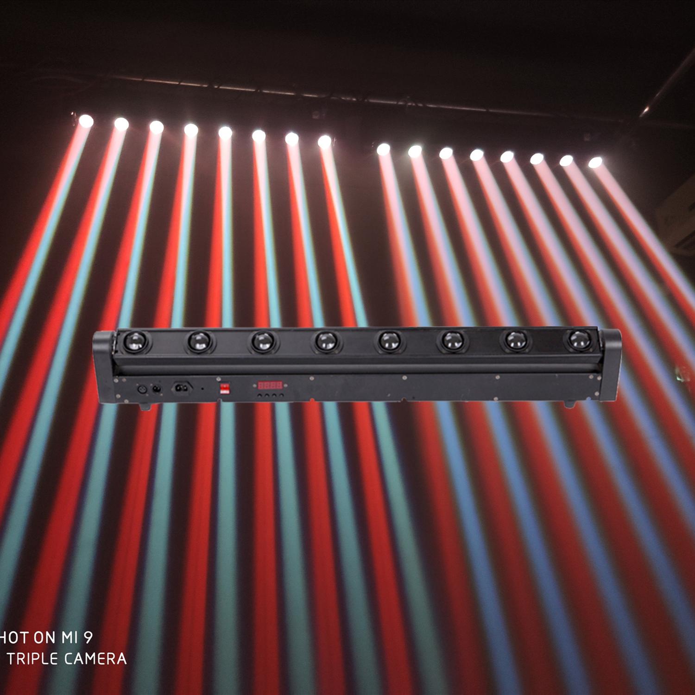 Barra profesional de luz beam, lámpara led RGBW de cabezas móviles de...