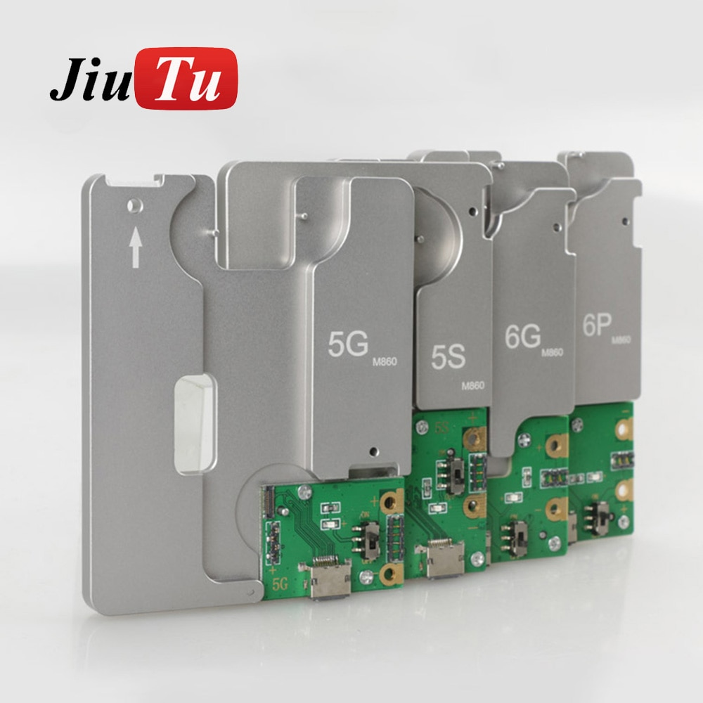 5 in 1 Hard Disk Test Fixture For iPhone 5G 5S 5C 6G 6P SE NAND Flash Memory CHIP IC Motherboard Repair