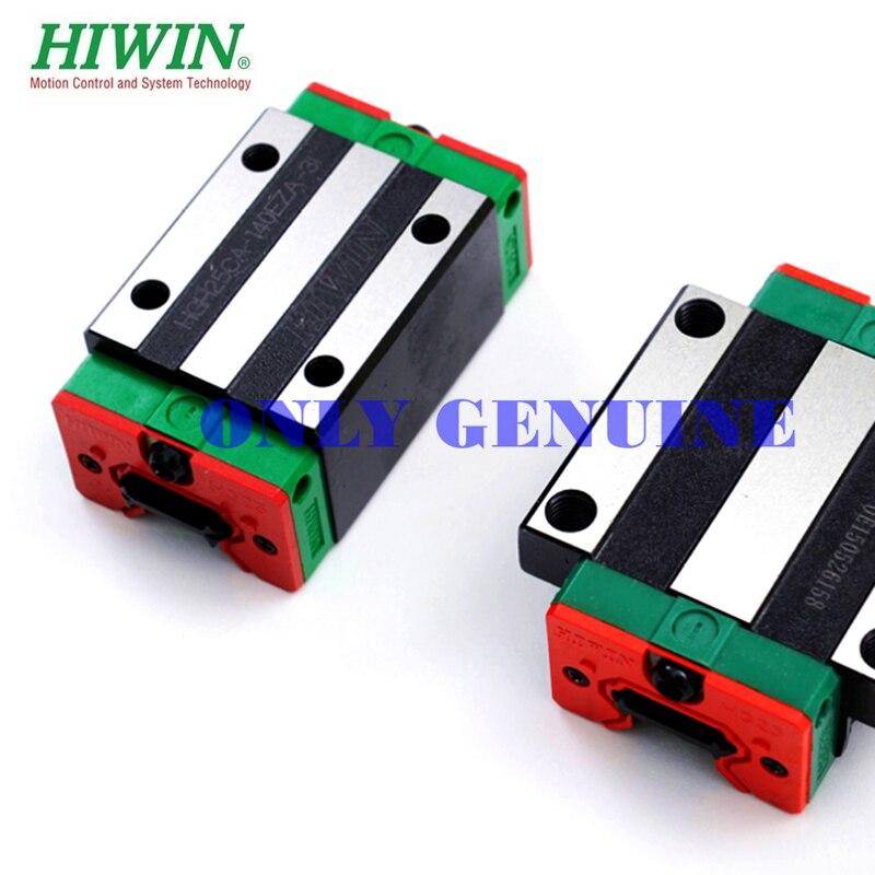 Frete grátis hiwin bloco de transporte de carga pesada hgh30 hgh35 ca/cc m8 * 25mm tamanho slide bloco original