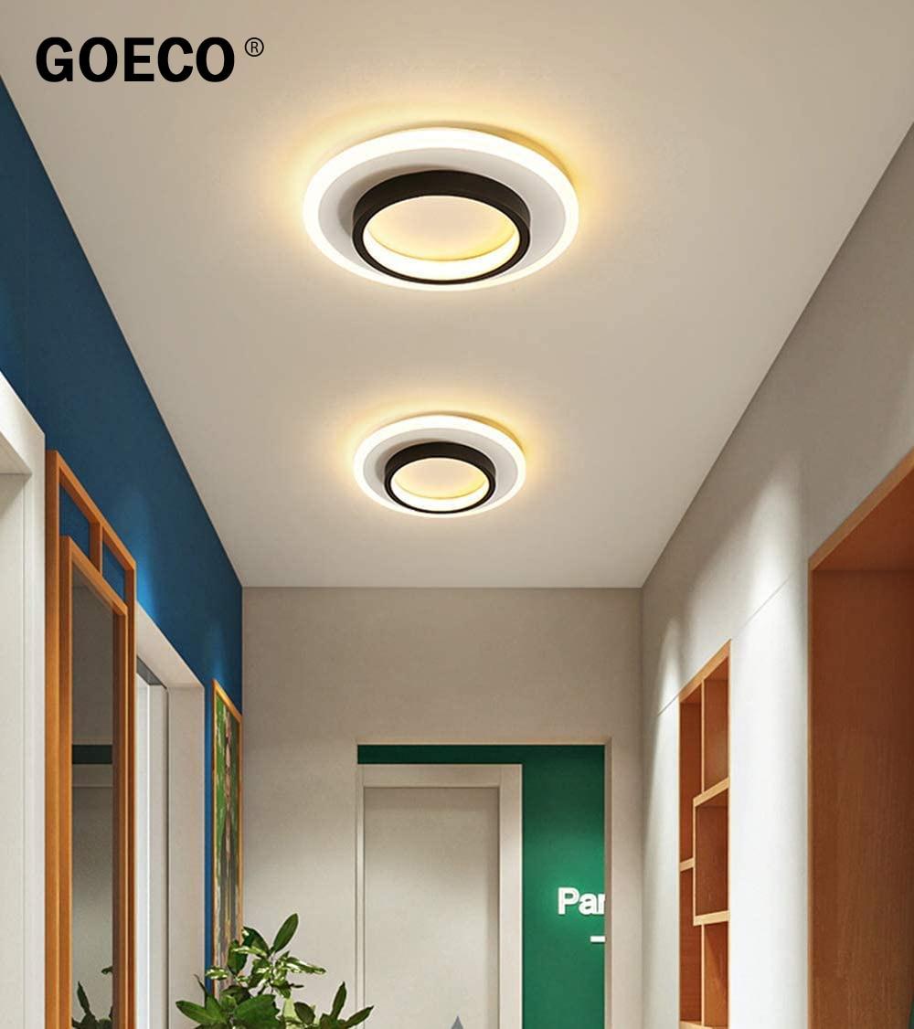 سقف ليد حديث ضوء 20 واط ، الشمال مربع مصباح السقف المستديرة ، لغرفة النوم غرفة المعيشة الممر شرفة قابل للتعديل ضوء اللون
