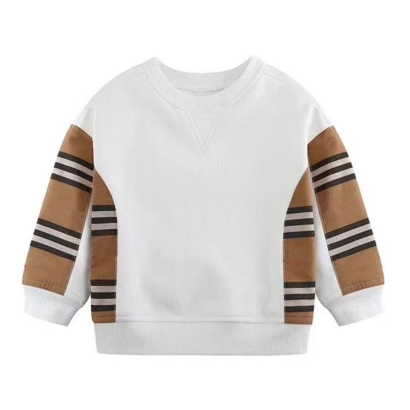 boys stripe Children's Clothing Cotton Baby Boys Sweatshirts for Autumn Kids Clothes stripe Little Boys Outerwear Costume