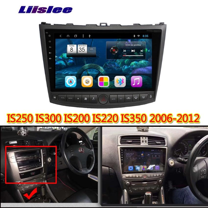 Para Lexus IS250 IS300 IS250 300 2006 2007 2008 2009 2010 2013 reproductor multimedia Android pantalla táctil de coche soporte de navegación GPS