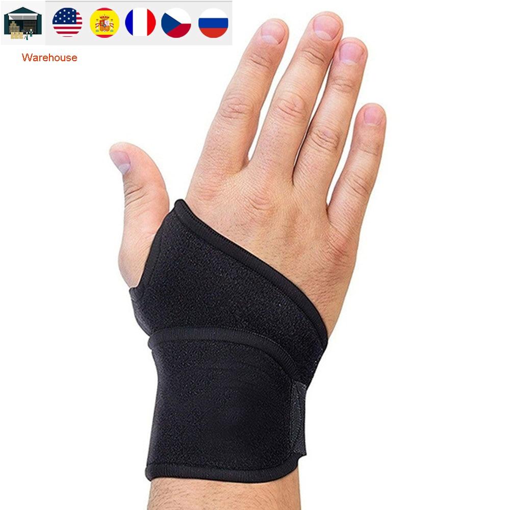 Запястный бандаж, регулируемый бандаж для поддержки запястья, компрессионный бандаж для облегчения боли при артрите и тендините, 2021