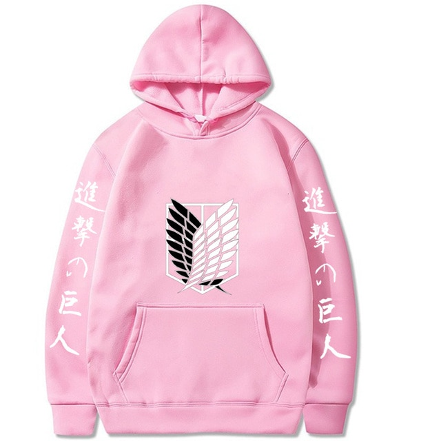 NEW Attack on Titan Hip Hop Hoodie 4