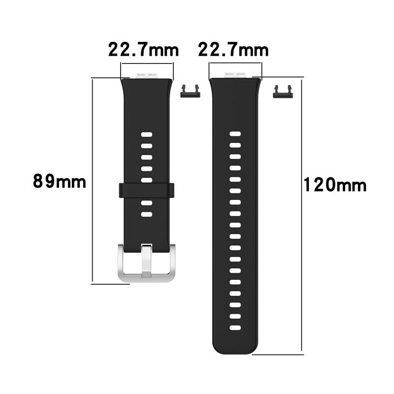"Купить с кэшбэком Replacement Silicone Wrist Strap Sport Watch Band for Huawei Watch Fit Smart Watch 1.64"" Vivid AMOLED Display"