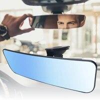 car mirror interior rearview mirrors universal auto rear view mirror anti glare wide angle surface blue mirror auto accessories