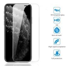 Закаленное стекло для защиты экрана для iPhone X XS Max XR 11 Pro Max 6 S 7 8 Plus HD 8-слойный усиленный взрывозащищенный защитный