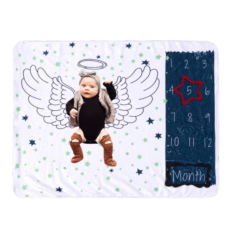 Фланелевые одеяла для новорожденных пеленальная пеленка новорожденных младенцев новорожденных реквизит для фото фон для маленьких мальчи...