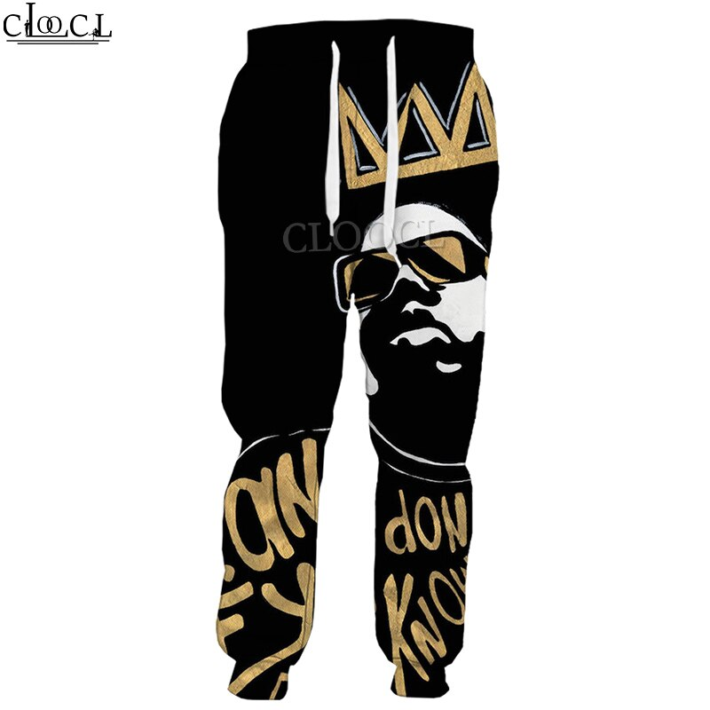 HX новейшие Рэперы Biggie smols 3D принт брюки унисекс модные повседневные Хип-хоп дикие Harajuku повседневные спортивные брюки