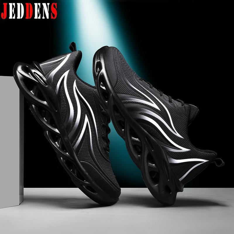 Blade Sports Shoes Men Light Soft Sneakers Male Mesh Breathable Shoes Men's Sports Low Running Shoe Summer Platform Footwear Q25