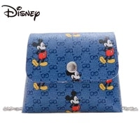 2021disney mickey new cute small coin purse ladies mini key case student cute mini wallet cartoon cute clutch bag diagonal bag