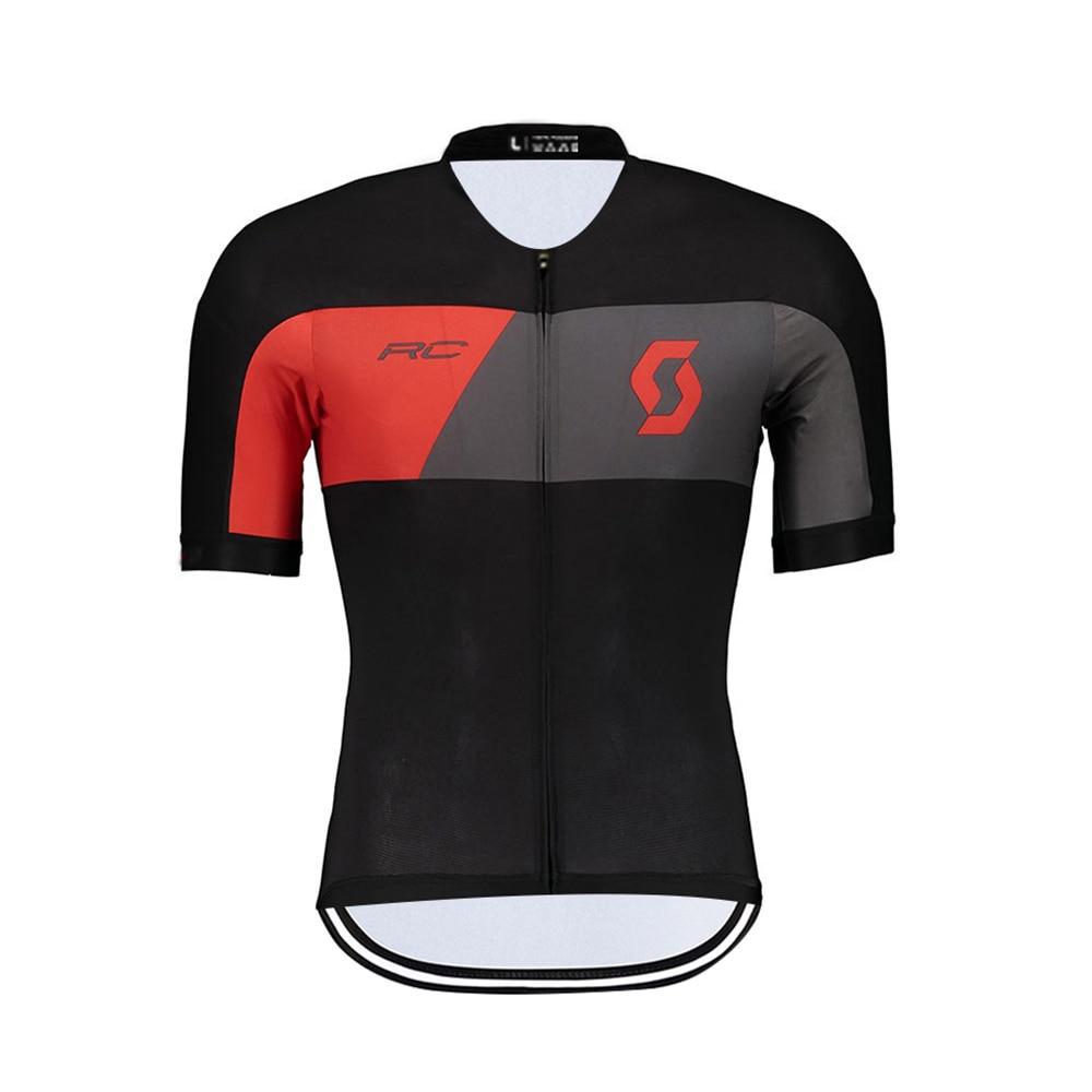 Camiseta de Ciclismo SCOTT para hombre, ropa deportiva de manga corta, Maillot...