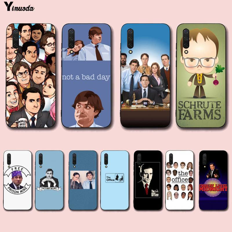 Yinuoda Die büro tv show Weichen Telefon Fall Capa für Xiaomi mi 5 6 plus 6x8 8se 8lite 9 9se 5x10 pro note10lite