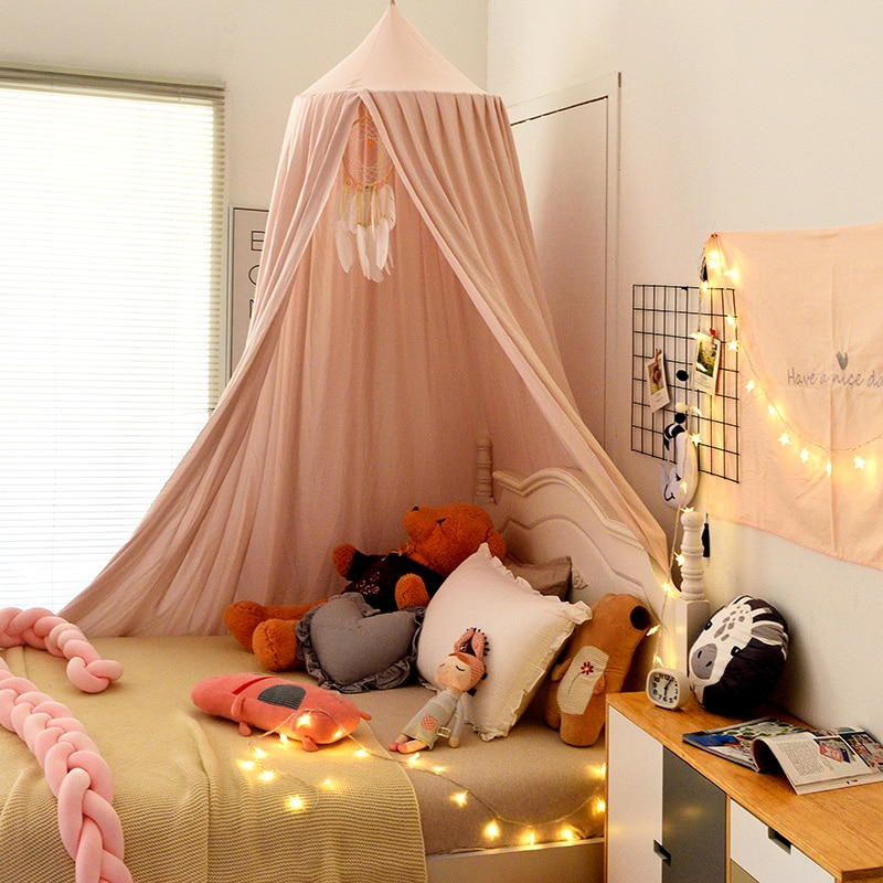 Mosquito Net for Baby Crib Girls Princess Mosquito Net Hung Dome Bedding Baby Bed Canopy Tent Curtain Room Decor