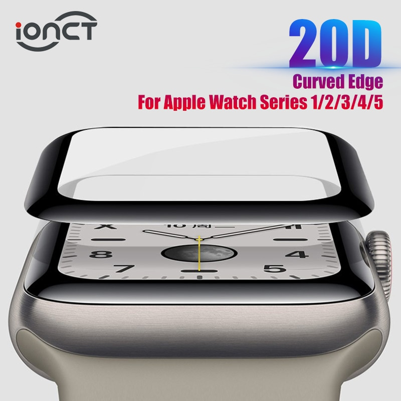 38mm 42mm touch screen digitizer glass lens panel for apple watch series 2 series 3 38mm 42mm touchscreen repiar parts 20D HD Protective Glass For Apple Watch Series 3 2 1 42MM 38MM Glass For Apple Watch Glass IWatch 5 4 44MM 40MM Screen protector