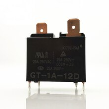 New 10pcs/lot relay GT-1A-12D Water heater air conditioner special relay 12VDC 25A 250V 4Pin