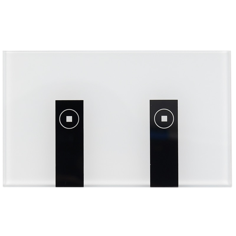 Wifi الذكية ضوء التبديل ، 2 مفاتيح الصحافة ستريت لوحة اليكسا ضوء التبديل ، في الجدار اللاسلكية على/قبالة الجدار التبديل ، توقيت ، صوت Ap