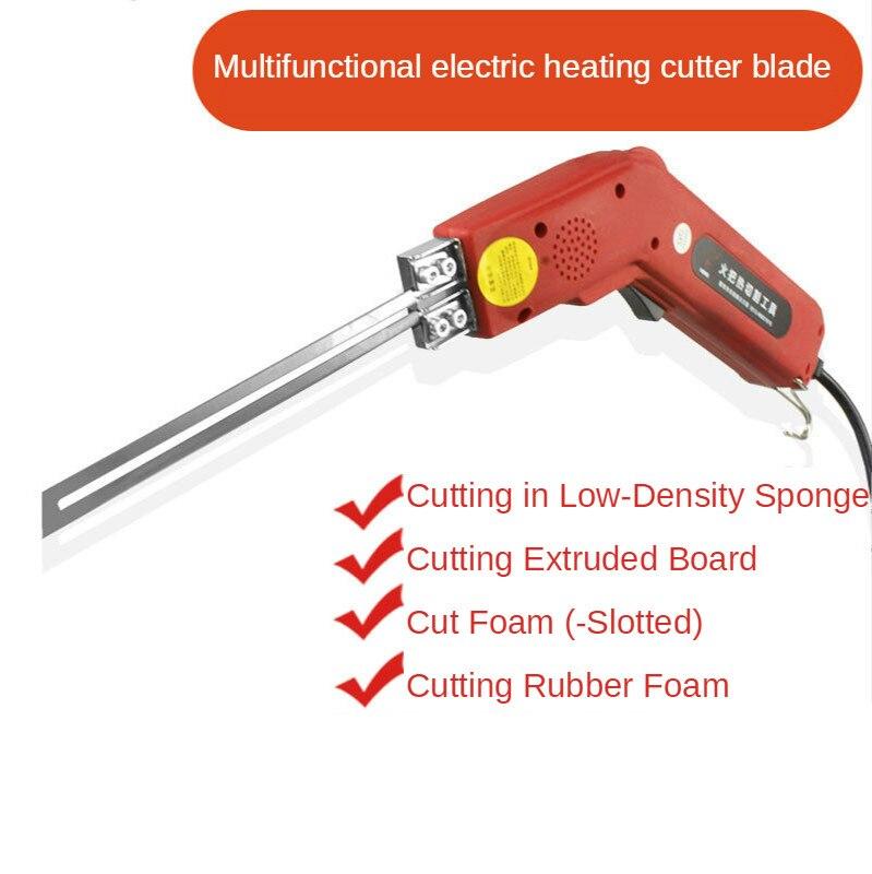 التدفئة الكهربائية سكين رغوة قطع سكين الإسفنج قطع سكين الساخن قطع سكين ماكينة قطع إسفنج التدفئة سكين الكهربائية الساخن