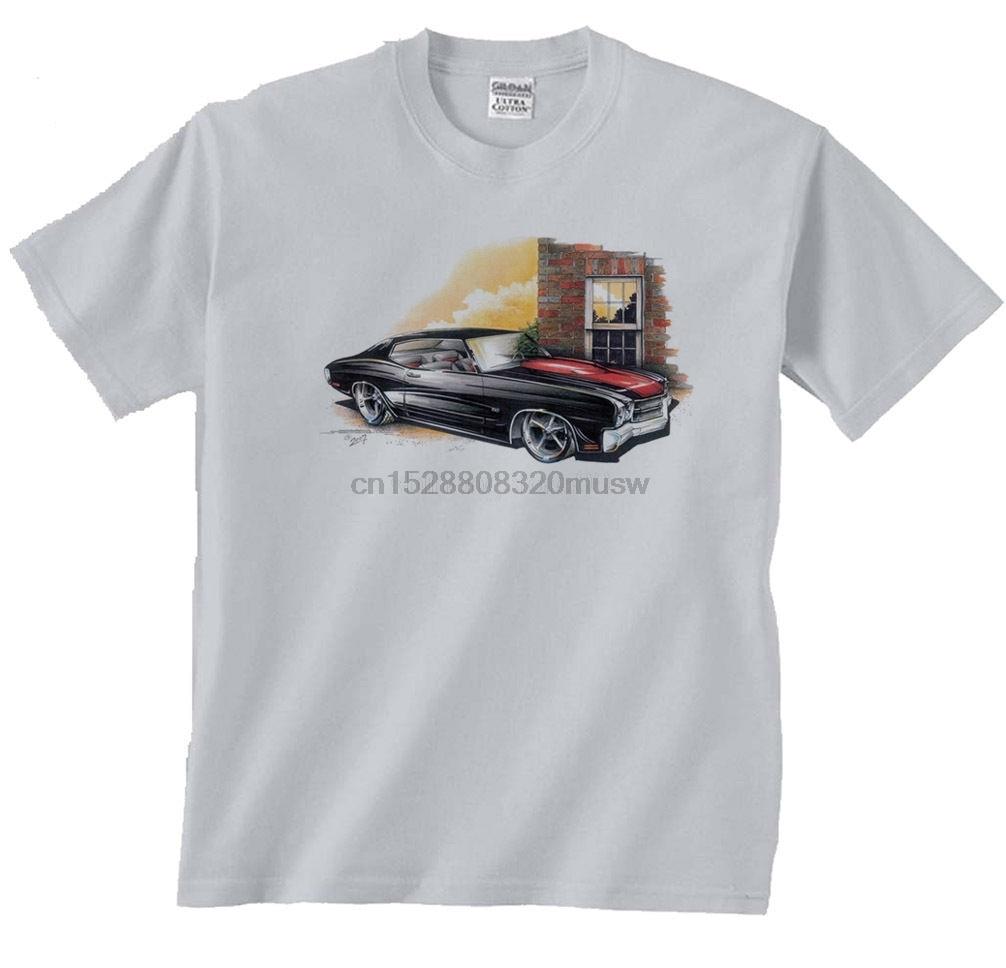 Nueva camisa de los hombres 2019 hombres Tops de verano Chevelle negro Chevy Ss Chevrolet coche Gto camiseta de camiseta Cosplay