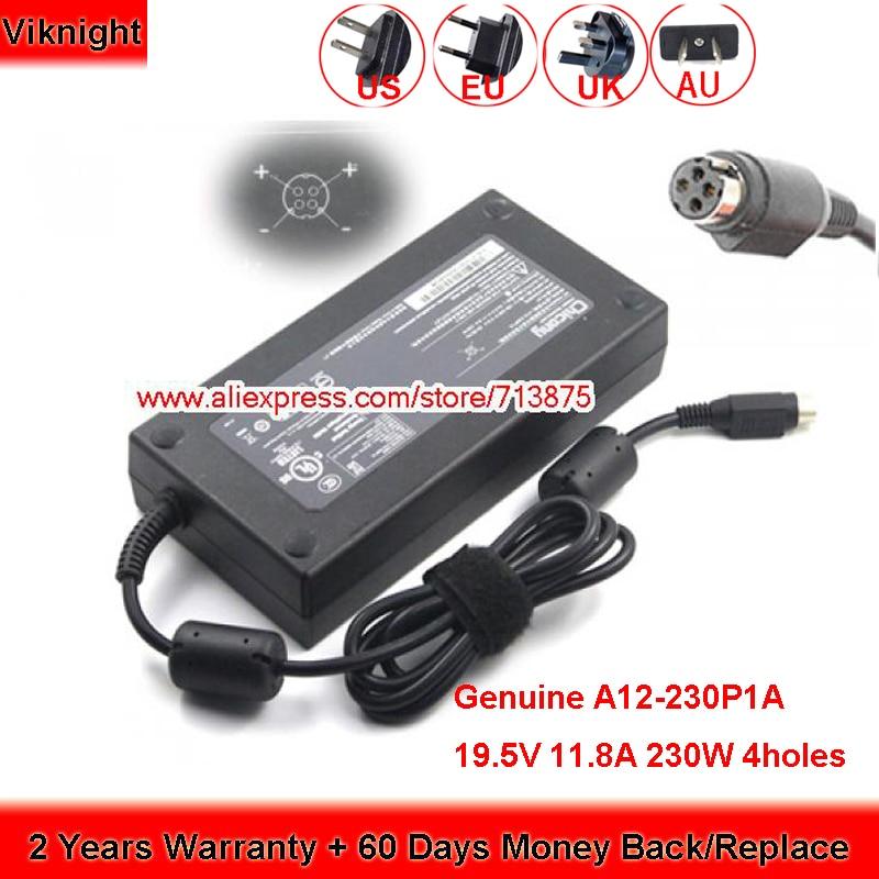 حقيقية 19.5V 11.8A 230W A230A003L A12-230P1A AC محول ل Msi GT73EVR 7RE GT76 GT72 GT62VR 7RE الألعاب المحمول ADP-230EB T