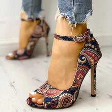 Nouvelles chaussures femme talons hauts pompes sandales mode été Sexy dames augmenté Stiletto Super Peep orteil chaussures
