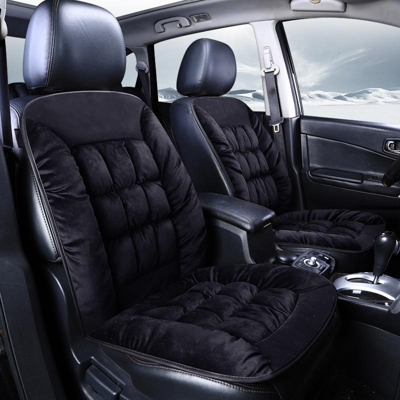 car seat cover cushion winter single interior supplies plush warm Auto accessories best for