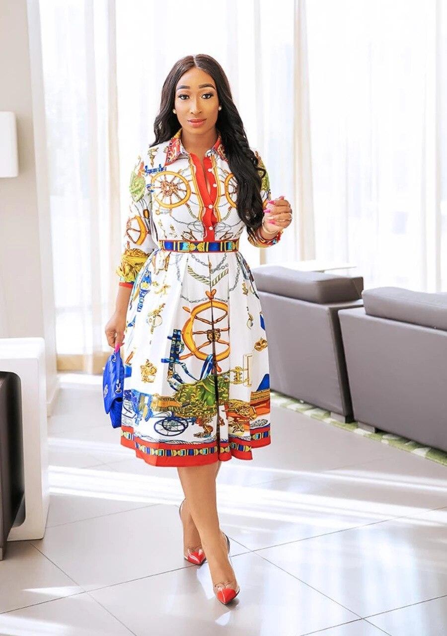 2021 Lcala فستان أبيض عتيق فساتين ماكسي للنساء فستان عتيق