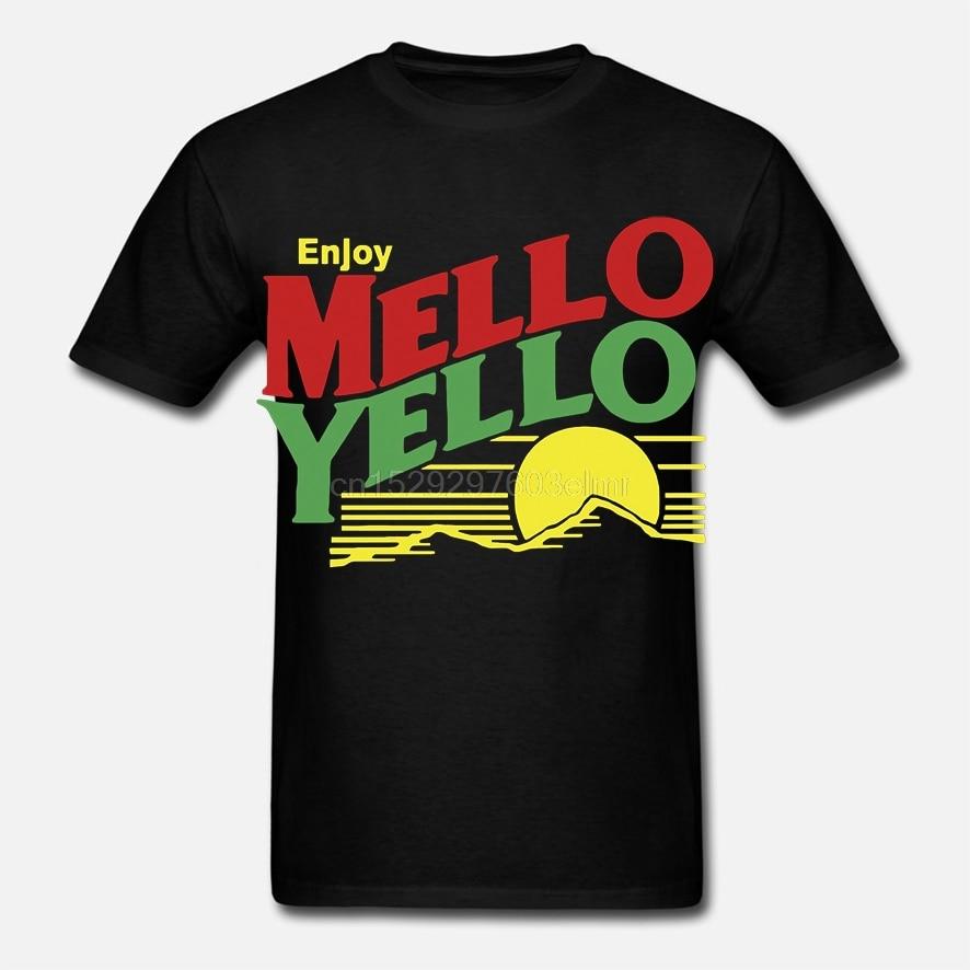 Mello Yello Days of Thunder Tom Cruise Men Fashion Cotton T Shirts Man Casual Short Sleeve Tops Black Size S-3XL