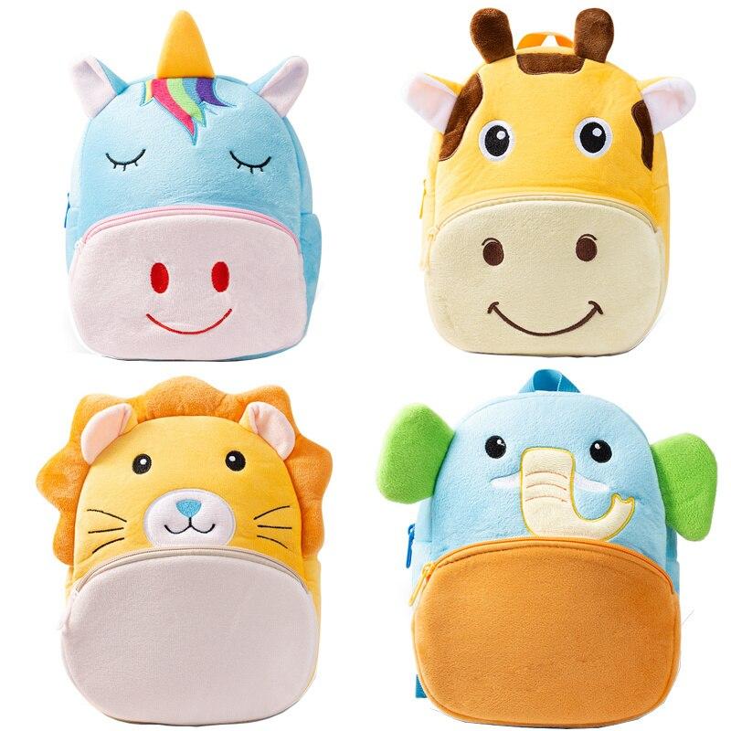Плюшевые детские рюкзаки с 3D рисунком для детского сада, милые школьные рюкзаки для малышей, детские школьные рюкзаки, рюкзаки для девочек и...