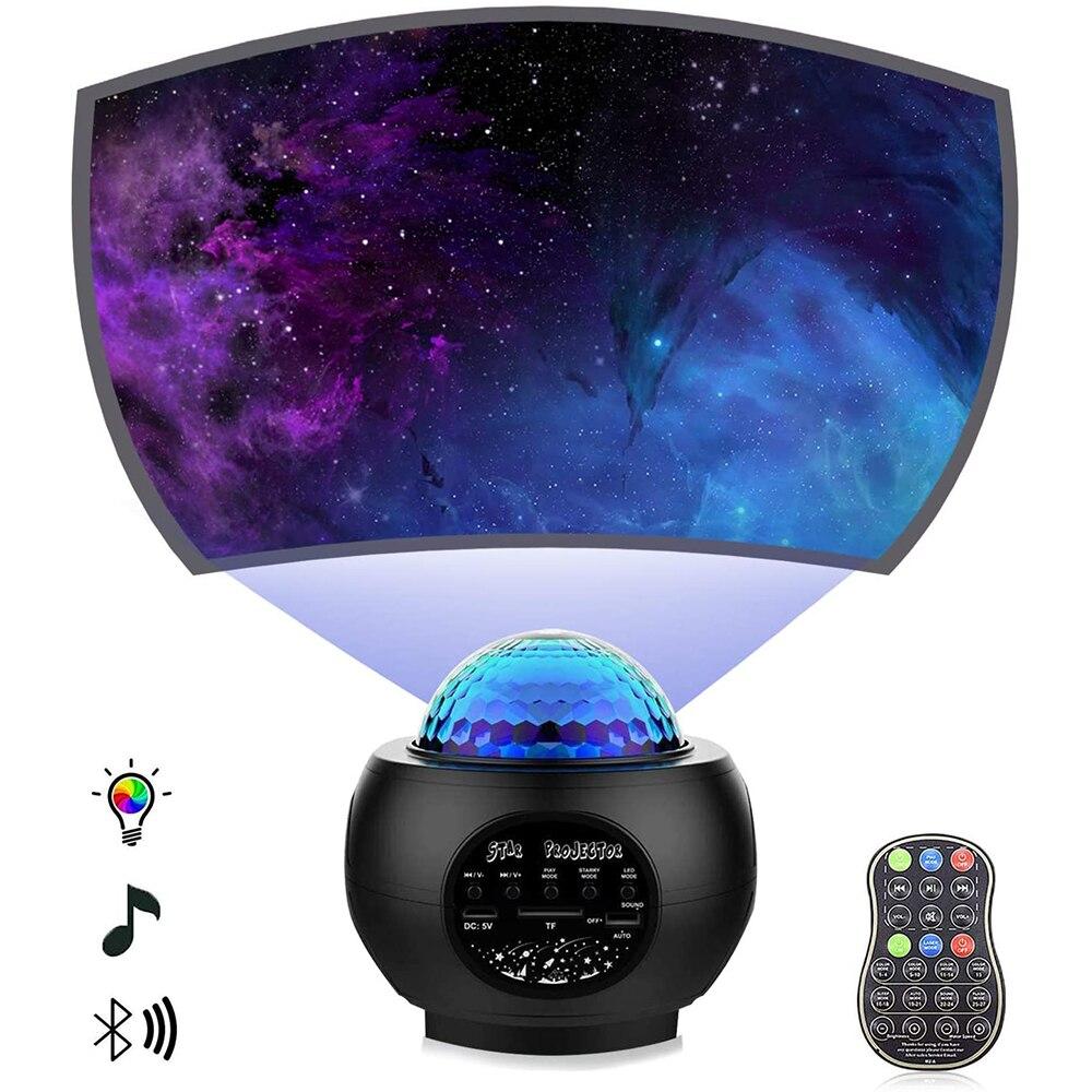 Lâmpada do laser da atmosfera da luz da noite da cor preta para o bebê da festa e o festival
