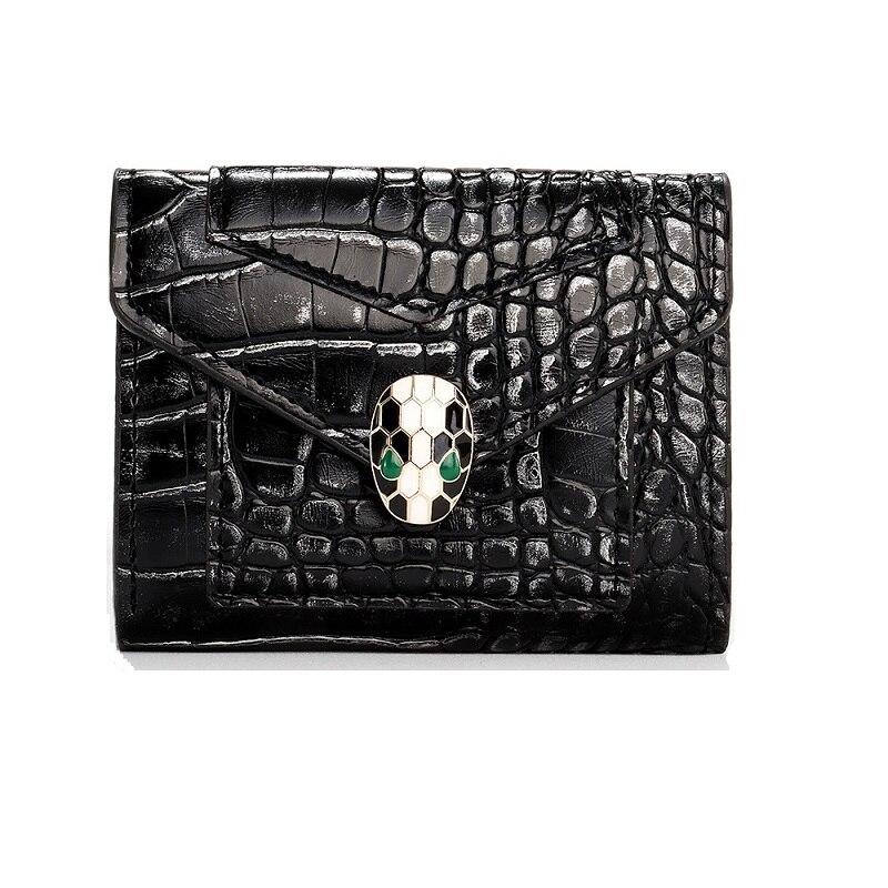 2021 женский кошелек из искусственной кожи с застежкой и маленьким и тонким карманом для монет, женские кошельки, кредитницы, роскошные бренд...