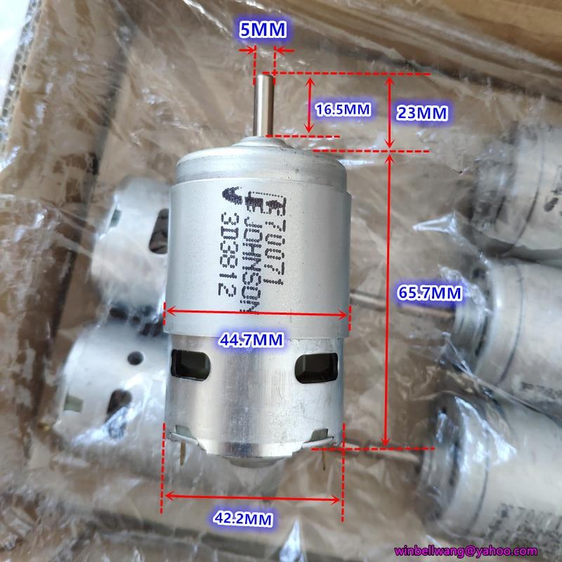 775 Motor DC 12V 18V 20V High Speed 14000/21500/24000rpm Elctric Drill Motors 12 V Volt Metal Fixed Bracket DC12V DIY Tools